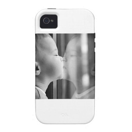 Beso del bebé Case-Mate iPhone 4 carcasa