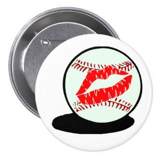 Beso del béisbol pins