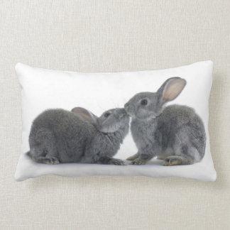 Beso del conejo almohadas