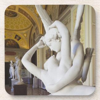 Beso del Cupid y de la psique, por Antonio Canova  Posavaso