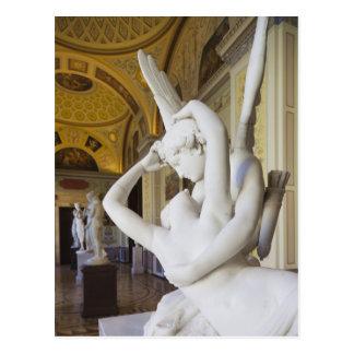 Beso del Cupid y de la psique, por Antonio Canova Tarjetas Postales