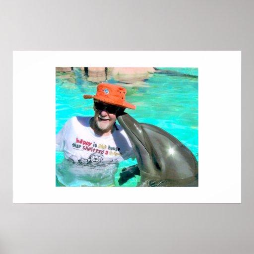 Beso del delfín del Mal Impresiones