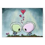Beso del el día de San Valentín Felicitaciones