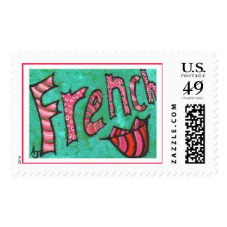 Beso del francés - sello