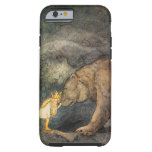 Beso del oso funda de iPhone 6 tough