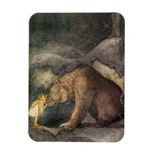 Beso del oso imanes flexibles