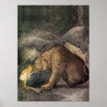 Beso del oso impresiones