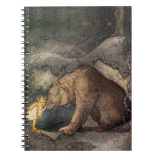 Beso del oso libros de apuntes con espiral