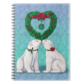 Beso del oso polar libros de apuntes