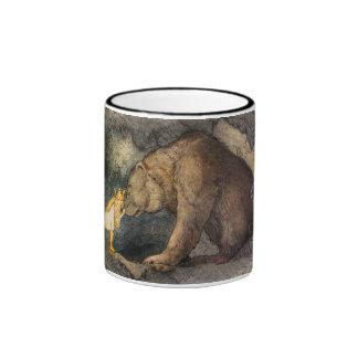 Beso del oso taza a dos colores