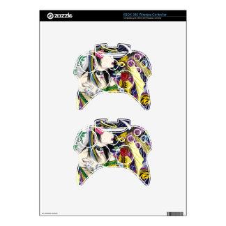 Beso del regulador inalámbrico SK de XBOX 360 del Mando Xbox 360 Skin