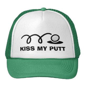 Beso divertido de los gorras el | del golf mi putt