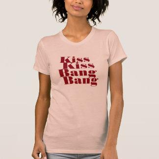 Beso, explosión del beso, camiseta de la explosión