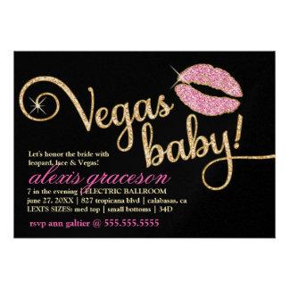 Beso glamoroso del bebé de 311 Vegas metálico Anuncio Personalizado