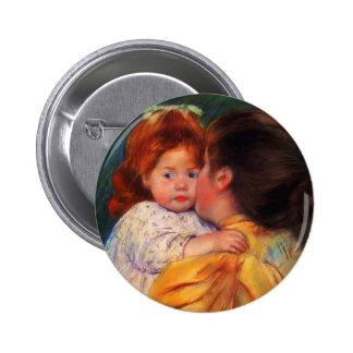 Beso maternal de Maria Cassatt- Pin