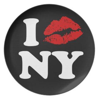 Beso Nueva York Platos Para Fiestas