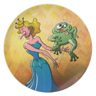 Beso repugnante para una princesa platos de comidas