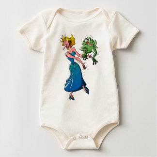 Beso repugnante para una princesa trajes de bebé