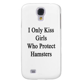Beso solamente a los chicas que protegen hámsteres carcasa para galaxy s4
