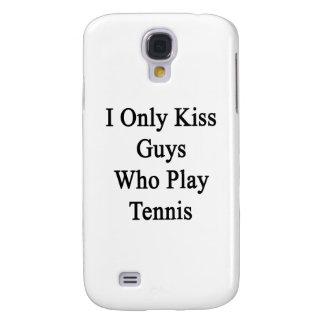 Beso solamente a los individuos que juegan a tenis funda para samsung galaxy s4