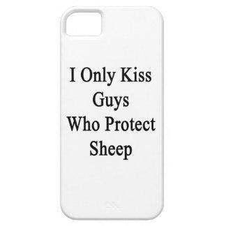 Beso solamente a los individuos que protegen funda para iPhone SE/5/5s
