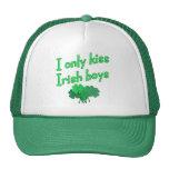 Beso solamente a muchachos irlandeses gorros bordados