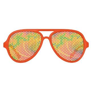 Beso tropical gafas de fiesta