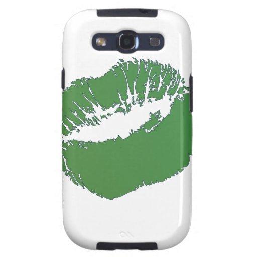 Beso verde irlandés samsung galaxy SIII funda