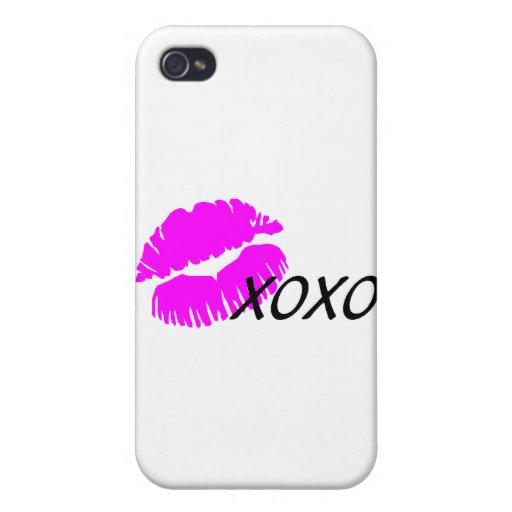 Beso XOXO iPhone 4 Coberturas