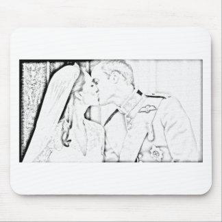 Beso y de Kate Alfombrilla De Raton