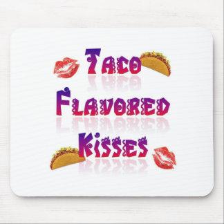 Besos condimentados Taco Mousepad