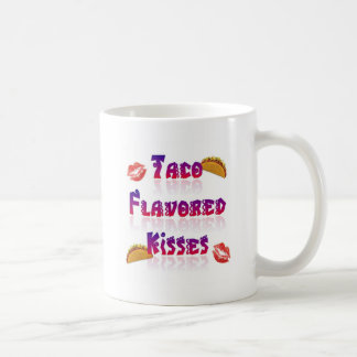 Besos condimentados Taco Taza Clásica