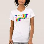 besos de la mariposa camisetas