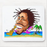 Besos de la SACUDIDA de Jamaica Tapetes De Ratón