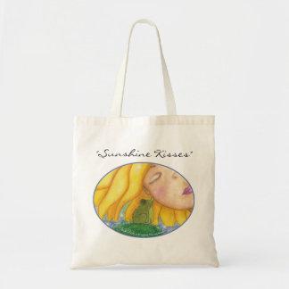 Besos de la sol bolsa de mano