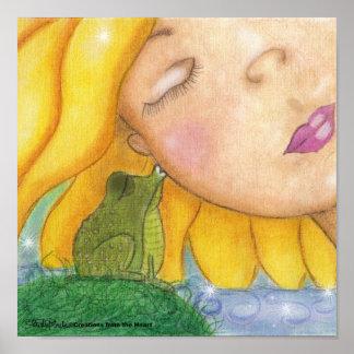 Besos de la sol póster