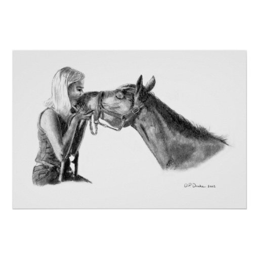 Besos del caballo poster