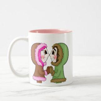 besos del esquimal tazas de café