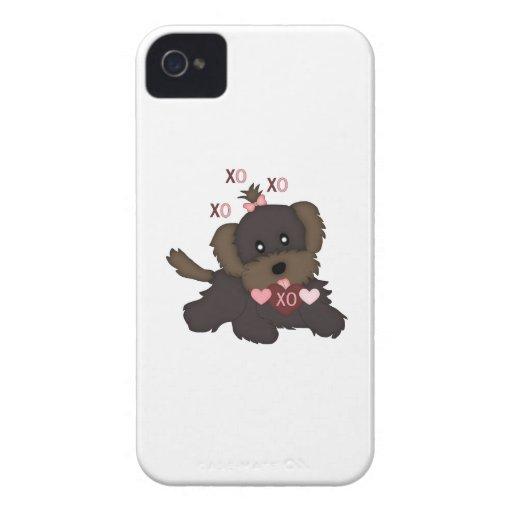 Besos del perrito Case-Mate iPhone 4 coberturas
