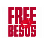Besos libre postales