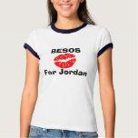 BESOS para Jordania Poleras