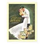 Besos románticos de Djer Tarjetas Postales