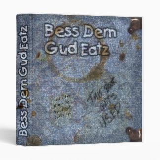 Bess Durn Gud Eatz Recipe Binder
