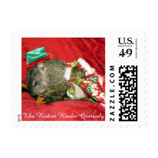 Bessie and Bluster Holiday Postage Stamp