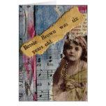 Bessie Brown Card