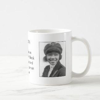 Bessie Coleman coffee cup Classic White Coffee Mug