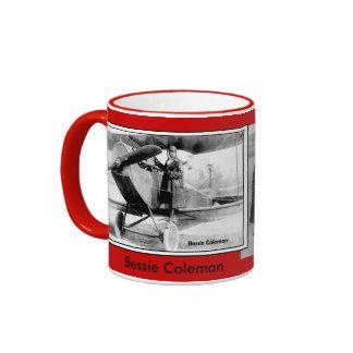 Bessie Coleman images Ringer Coffee Mug