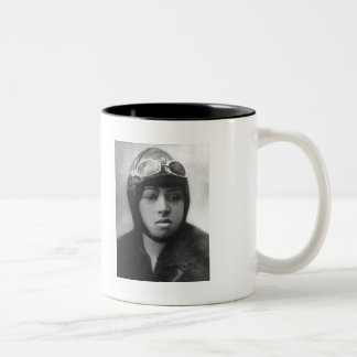 Bessie Coleman Two-Tone Coffee Mug