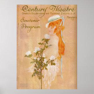 Bessie McCoy Artist Raphael Kirchner/ Poster
