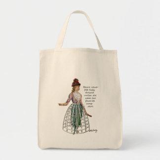 Bessie y la su bolsa de asas del collage de